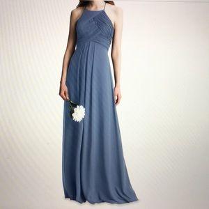 Bill levkoff bridesmaid dress style 7001. SLATE